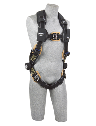 ExoFit NEX Arc Flash Harness, Quick-Connect Chest and Legs, Front
