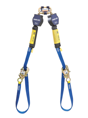 3M | DBI-SALA Nano-Lok Tie-Back SRL, Twin-Leg, Web, 9 ft.