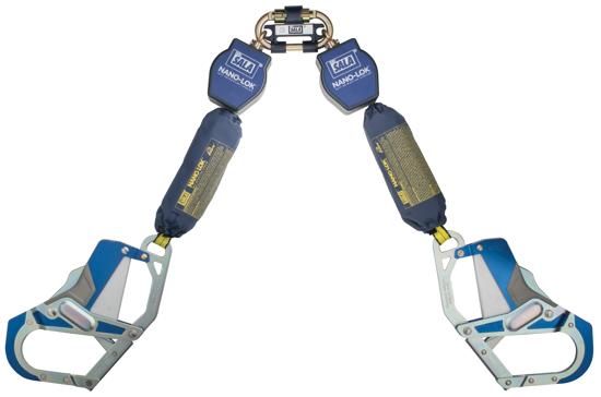 3M | DBI-SALA Nano-Lok SRL, Twin-Leg, Web 6 ft.