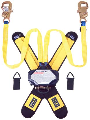 3M | DBI-SALA Talon Tie-Back SRL, Twin-Leg, Web w/ Steel Snap Hooks