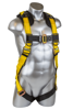 Seraph Harness, Pass-Through Chest and Legs, Front