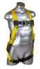 Guardian Velocity Harness, Pass-Through Chest and Legs, Front