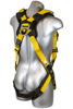 Seraph Harness, Pass-Through Chest, Tongue-Buckle Legs, Back