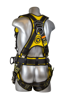 Cyclone Construction Harness, Quick-Connect Chest, Tongue-Buckle Legs, Side D-Rings, Back