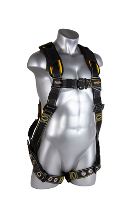 Cyclone Harness, Quick-Connect Chest, Tongue-Buckle Legs, Front