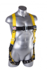 Velocity Harness w/ Surfacetech Webbing, Pass-Through Chest, Tongue-Buckle Legs, Front
