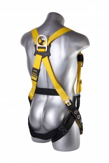 Velocity Harness w/ Surfacetech Webbing, Pass-Through Chest, Tongue-Buckle Legs, Back