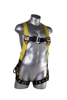 Velocity Harness w/ Surfacetech Webbing, Pass-Through Chest, Tongue-Buckle Legs, Side D-Rings, Front