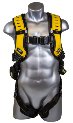 Halo Harness, Quick-Connect Chest and Legs, Front