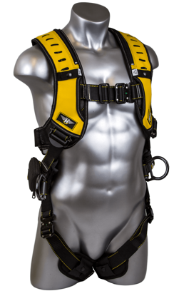 Halo Harness, Quick-Connect Chest and Legs, Side D-Rings, Front
