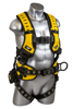 Halo Construction Harness, Pass-Through Chest, Tongue-Buckle Legs, Side D-Rings, Front