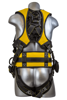 Halo Construction Harness, Pass-Through Chest, Tongue-Buckle Legs, Side D-Rings, Back