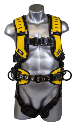 Halo Construction Harness, Quick-Connect Chest and Legs, Side D-Rings, Front