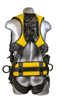 Halo Construction Harness, Quick-Connect Chest and Legs, Side D-Rings, Back