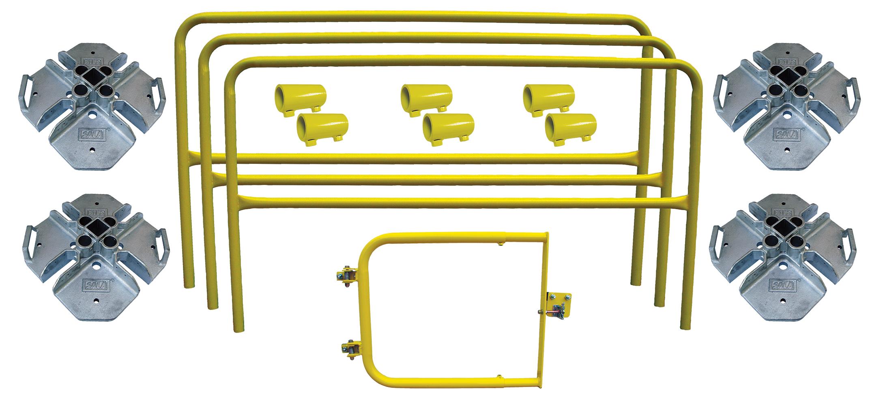 3M | DBI-SALA, Portable Guardrail Roof Hatch Kit, 7900008