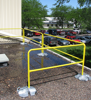 Portable Guardrail on Roof