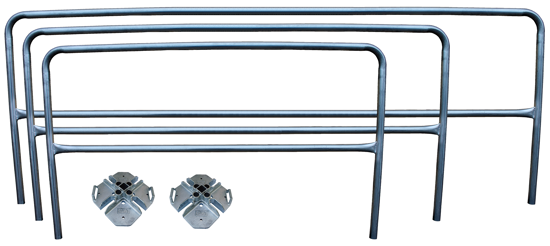 3M | DBI-SALA, Build Your Own Portable Guardrail System, Galvanized