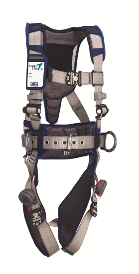 ExoFit STRATA Construction Harness, Duo-Lok Quick-Connect Chest and Legs, Side D-Rings, Front