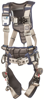 ExoFit STRATA Construction Harness, Triple Action Chest and Leg Buckles, Side D-Rings, Front