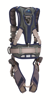 ExoFit STRATA Construction Harness, Triple Action Chest and Leg Buckles, Side D-Rings, Back