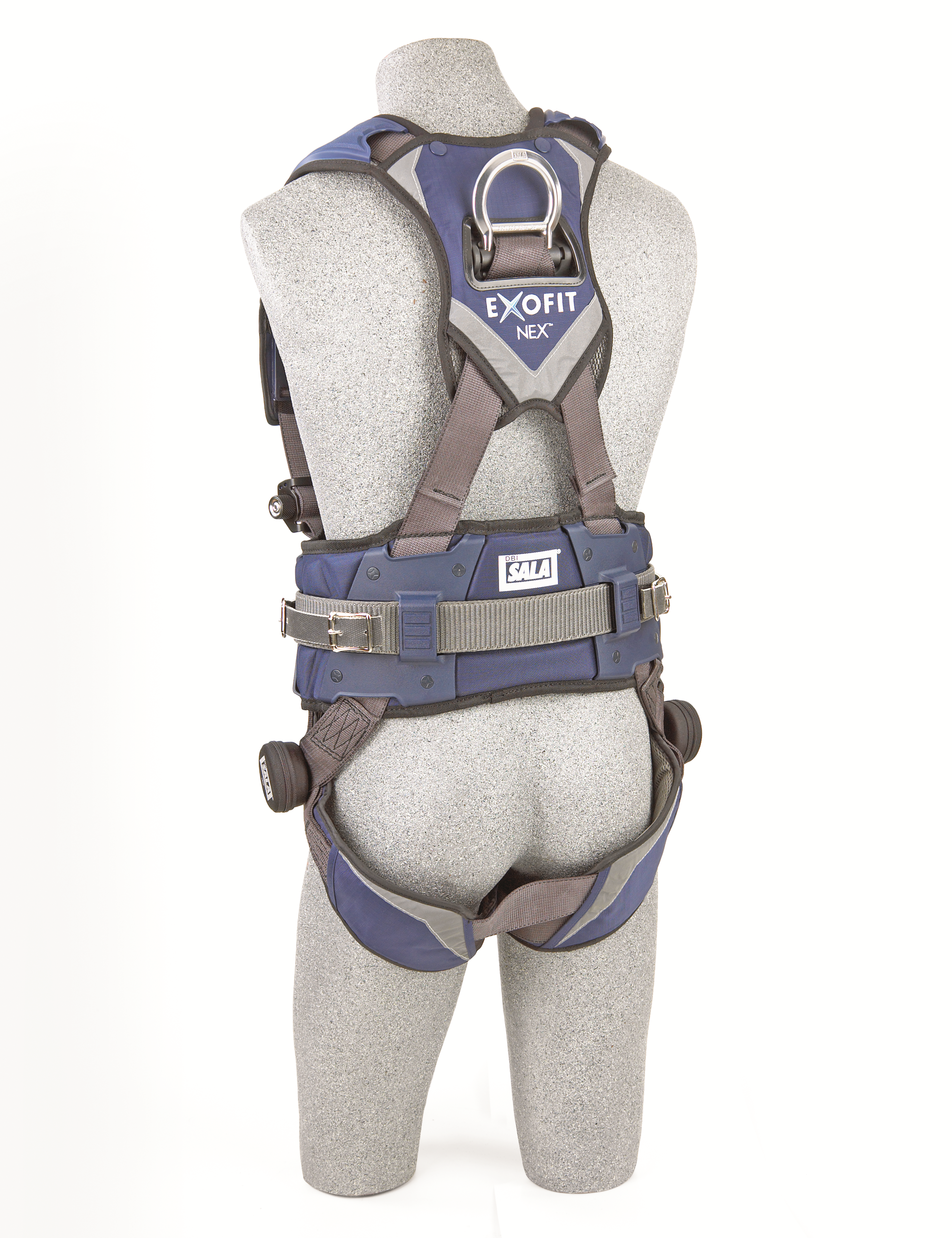 ExoFit NEX Mining Vest Harness, Quick-Connect Chest and Legs, Back