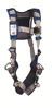 ExoFit STRATA Vest Harness, Triple Action Chest and Leg Buckles, Side D-Rings, Front