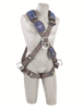 ExoFit NEX Crossover Harness, Quick-Connect Chest and Legs, Side D-Rings, Front
