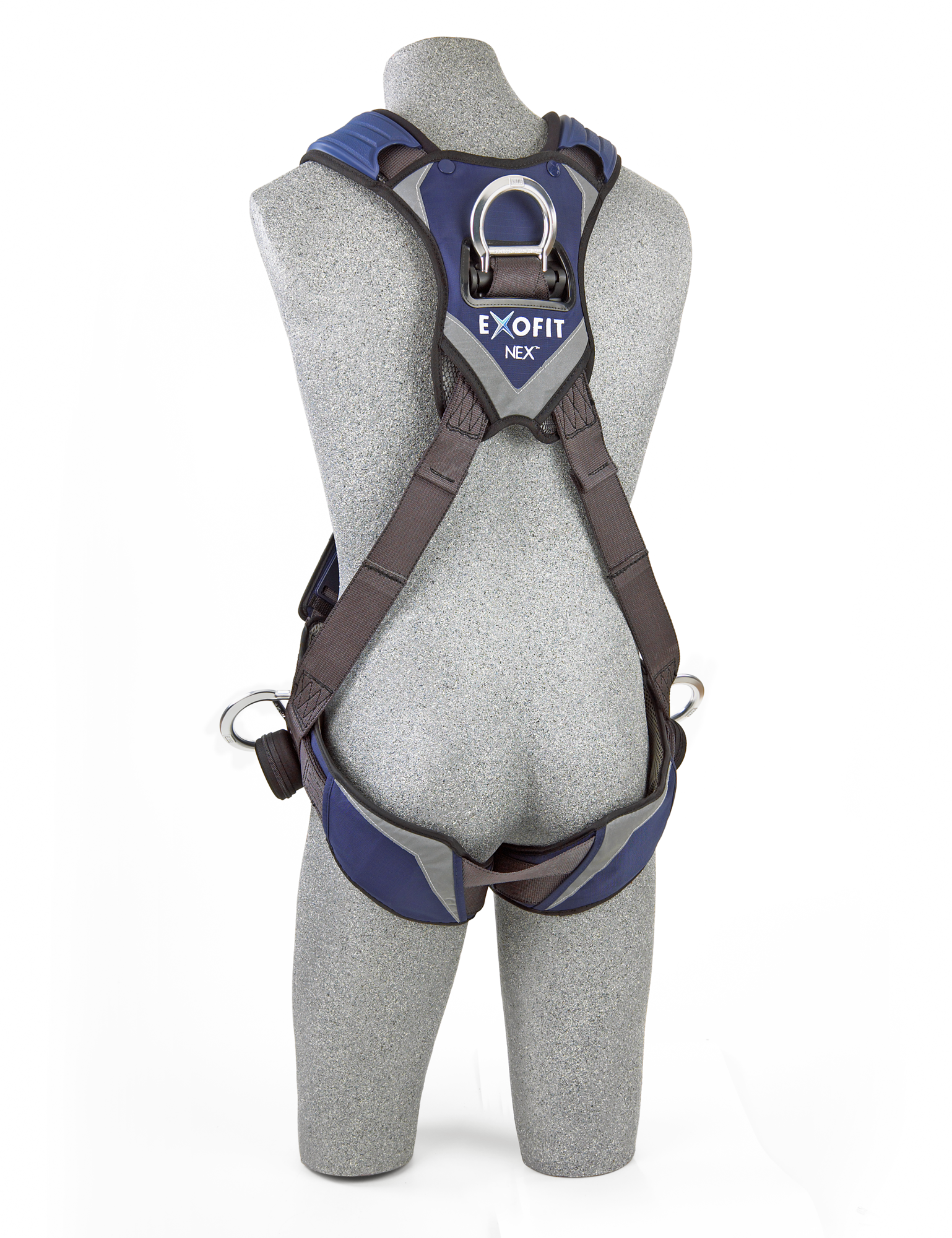 ExoFit NEX Crossover Harness, Quick-Connect Chest and Legs, Side D-Rings, Back