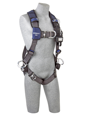 ExoFit NEX Wind Energy Harness, Quick-Connect Chest and Legs, Side D-Rings, Front