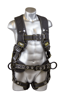 Halo Construction Harness w/ Cordura Ballistic Fabric, Quick-Connect Chest, Tongue-Buckle Legs, Side D-Rings, Front