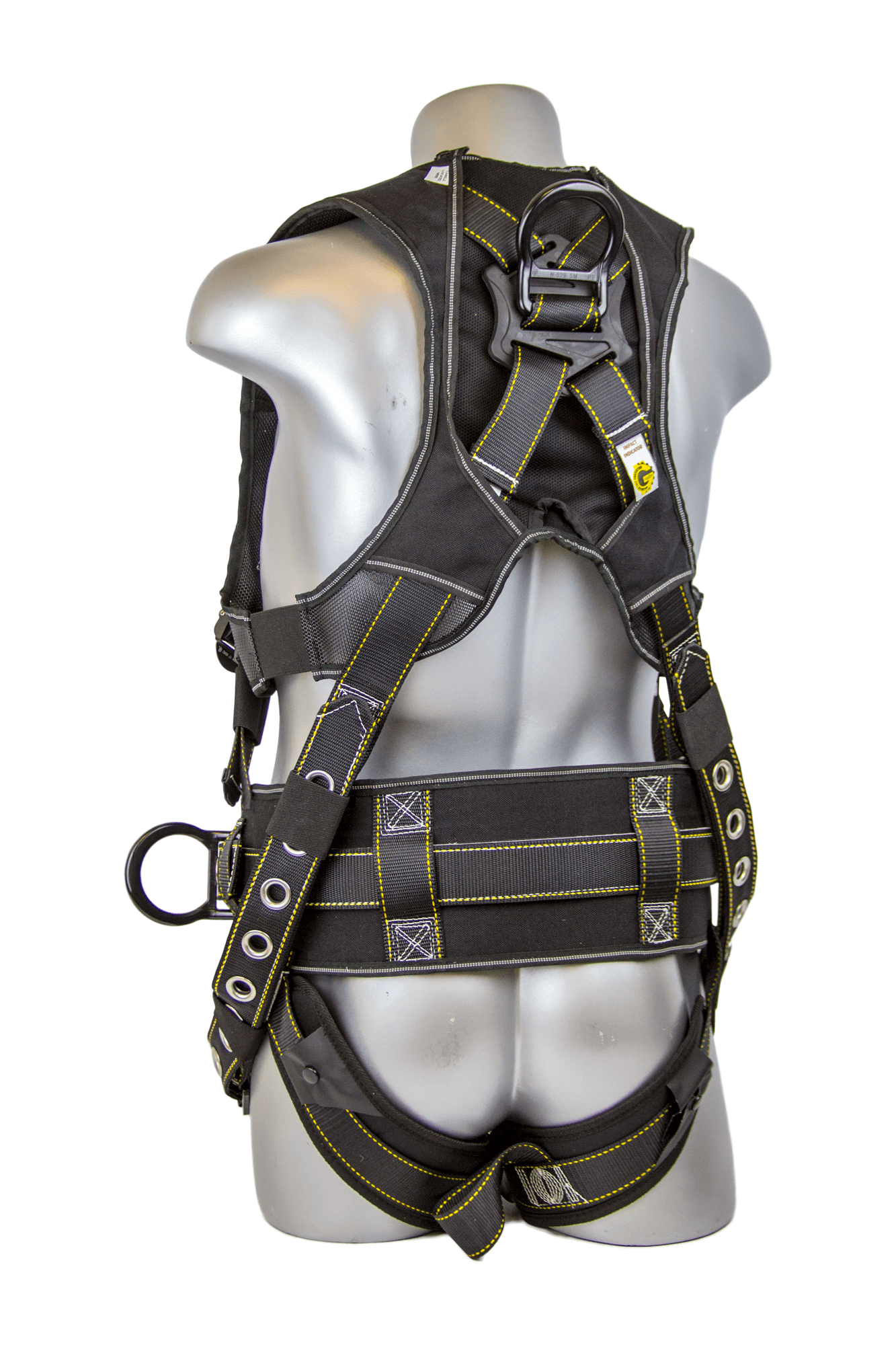 Halo Construction Harness w/ Cordura Ballistic Fabric, Quick-Connect Chest, Tongue-Buckle Legs, Side D-Rings, Back