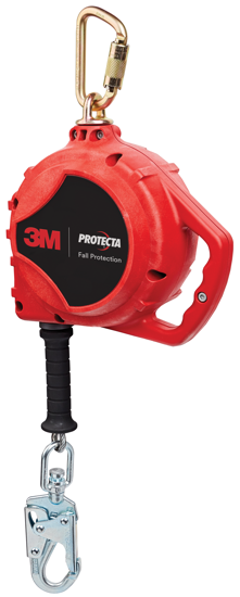 3M | Protecta Rebel Aluminum SRL, Stainless Steel Cable, 33 ft.