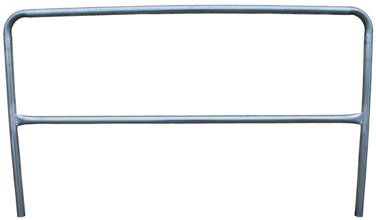 3M | DBI-SALA Portable Guardrail Section, 10 ft., Galvanized, 7900068