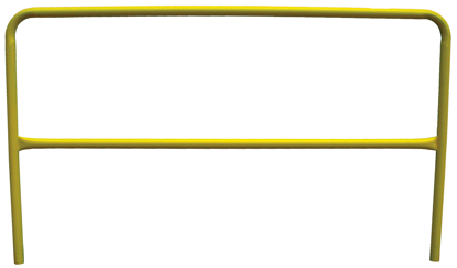 3M | DBI-SALA Portable Guardrail Section, 10 ft., Yellow, Powder Coated, 7900063