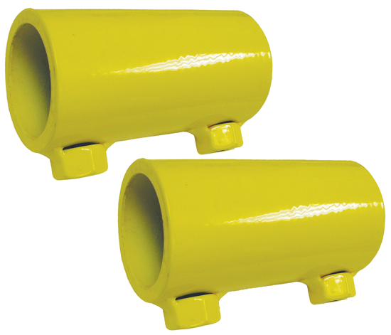 3M | DBI-SALA Portable Guardrail Splice Kit, Yellow, Powder Coated, 7900005