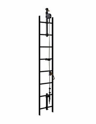 3M   DBI-SALA Lad-Saf 2-User Vertical Safety System Bracketry, 6116612