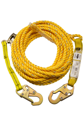 Guardian Poly Steel Rope Vertical Lifeline Assembly