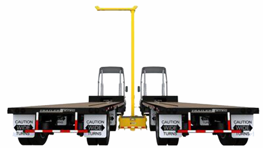 FlexiGuard SafRig with Counterweight Base between Trucks