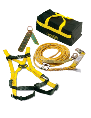 Sack of Safety w/ 50 ft. Vertical Lifeline Assembly, 00735