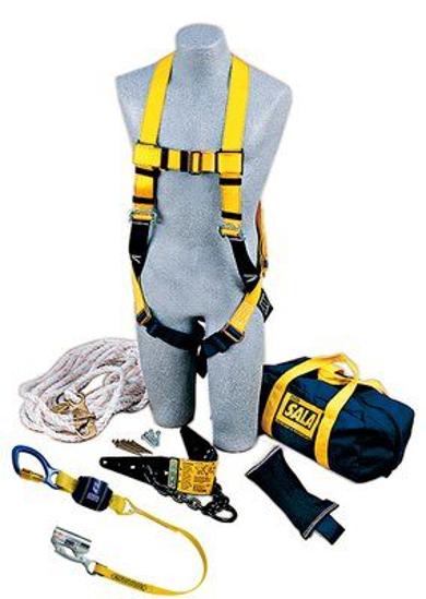 DBI-SALA Reusable Roofer's Fall Protection Kit, 2104168