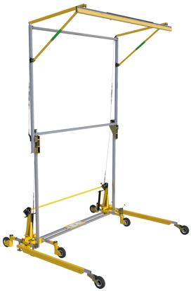 FlexiGuard Portable C-Frame Fall Arrest System Adjustable Height