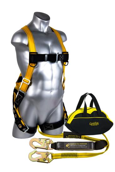 Sack of Safety w/ 6 ft. Shock Absorbing Lanyard, 20034