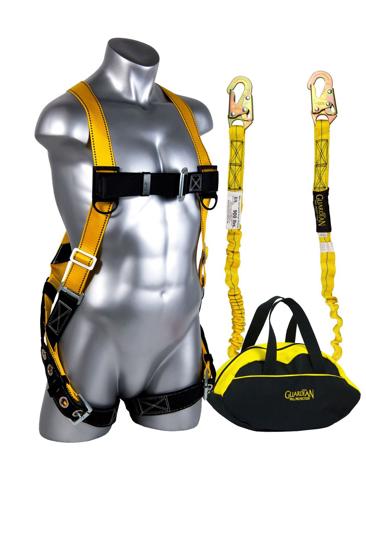 Sack of Safety w/ 6 ft. Shock Absorbing Lanyard