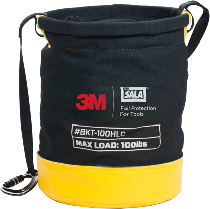 3M | DBI-SALA Hook and Loop Canvas Safe Bucket, 100 lbs. Load Rating, 1500134
