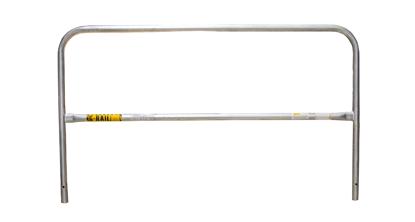 Portable G-Rail Section, Galvanized