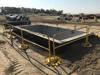 Portable G-Rail System Around Fall Hazard