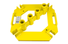 QuickSet Multi-Directional Baseplate w/ Integral Toeboard Attachments (powder-coated)