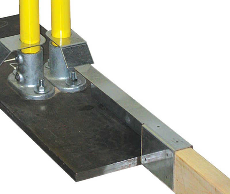 Toeboard Attachment for Guardian Baseplate - Long (21.25 in.)