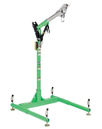 3M | DBI-SALA 5-Piece Davit Hoist System, 11.5 - 27.5 inch Adjustable Offset Mast, 8518000