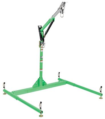 3M | DBI-SALA 5-Piece Davit Hoist System, 23.5 - 42.5 inch Adjustable Offset Mast, 8518040